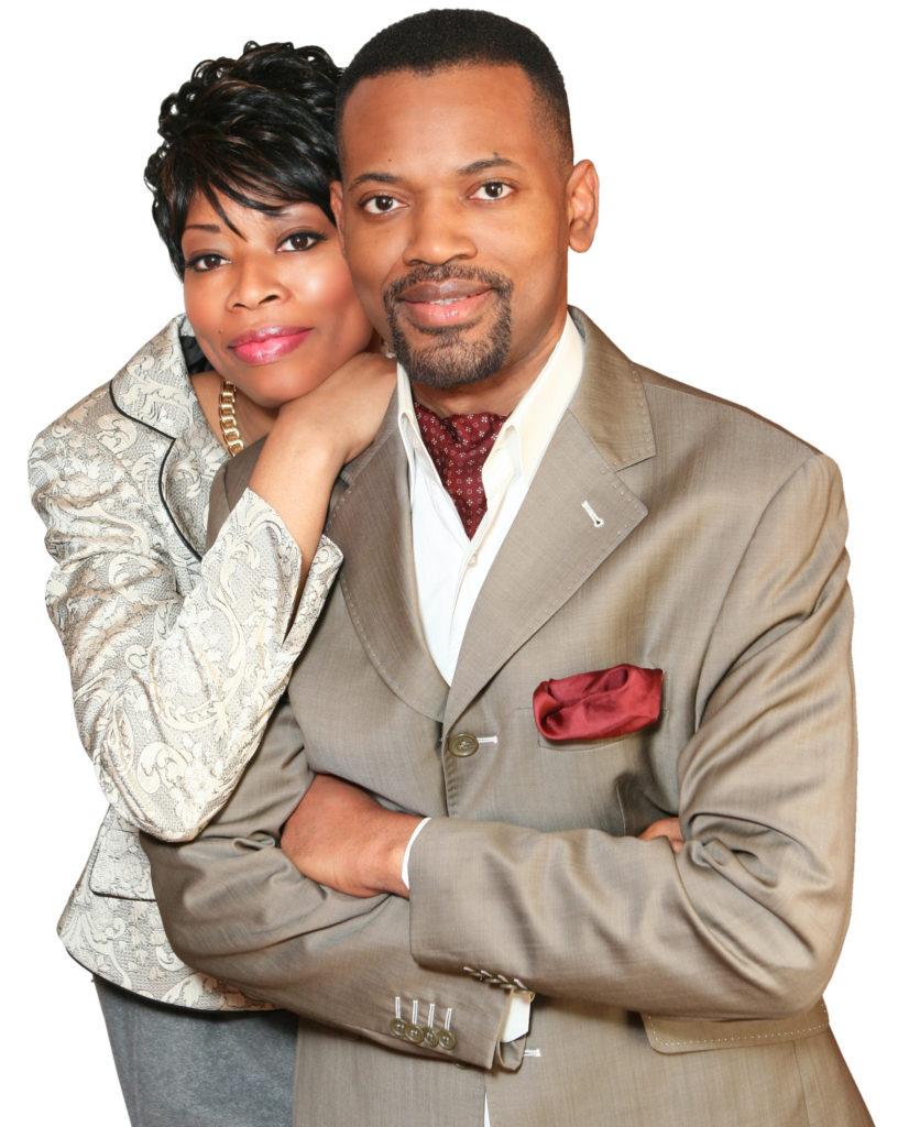pastor samuel Kamuanga of cava church in malden and his wife